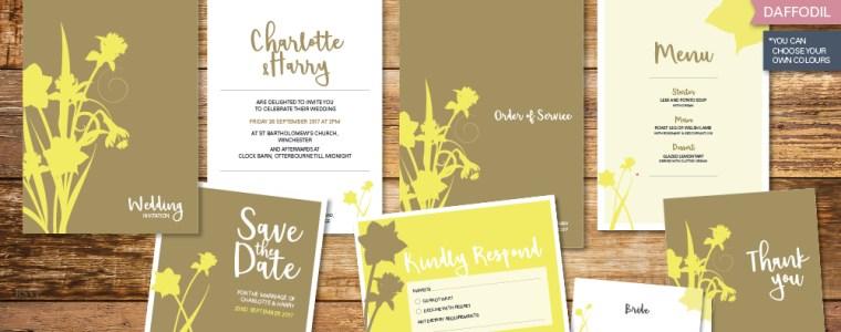 daffodil-wedding-invitation-set