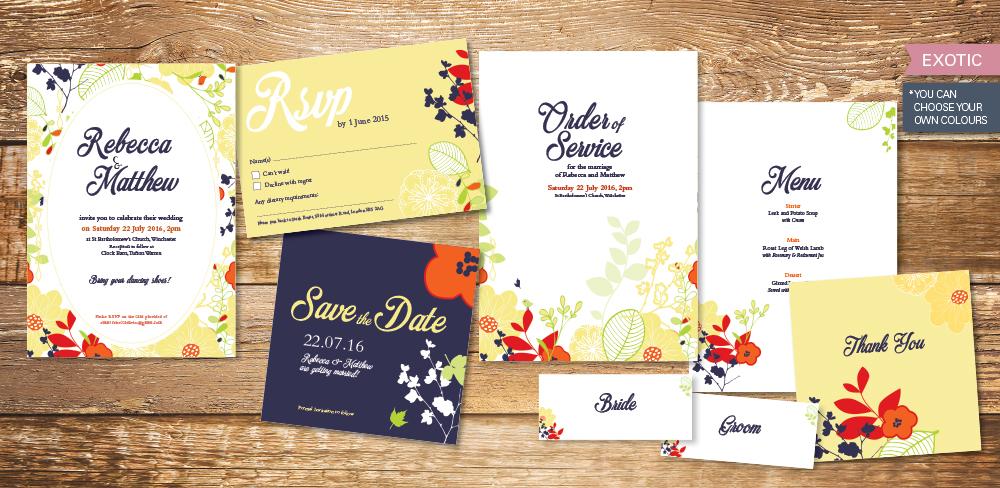 exotic-wedding-invitation-set