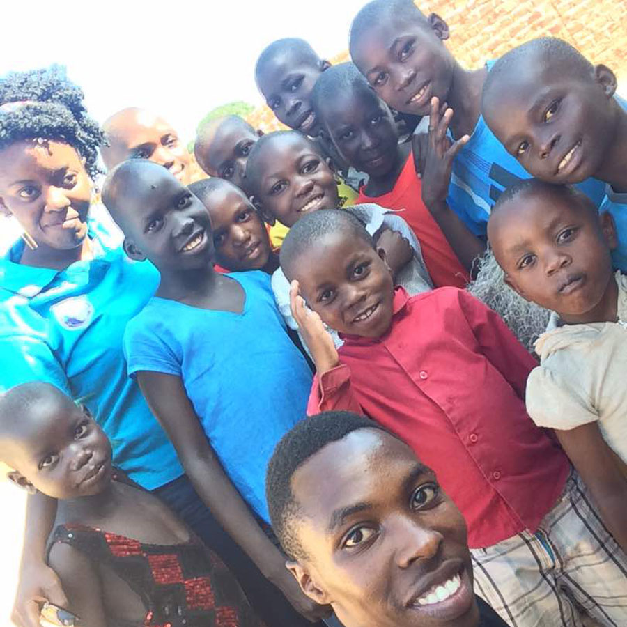 Rotarack Kampala club visits Love Uganda foundation orphanage
