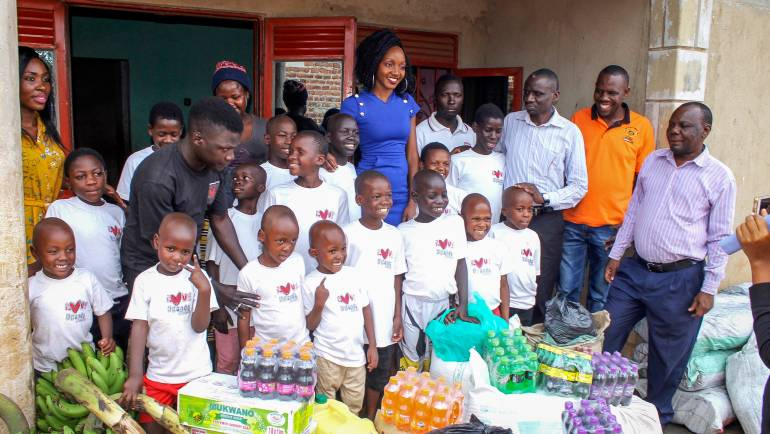 SIMBA CASINO VISITS LOVE UGANDA FOUNDATION ORPHANAGE