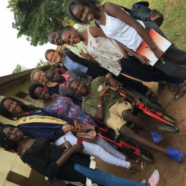 VALENTINES DAY AT THE KAMPALA SCHOOL OF THE PHYSICALLY HAND-CAPPED BY LOVE UGANDA FOUNDATION