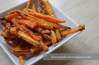 Knusprige Batate-Fries