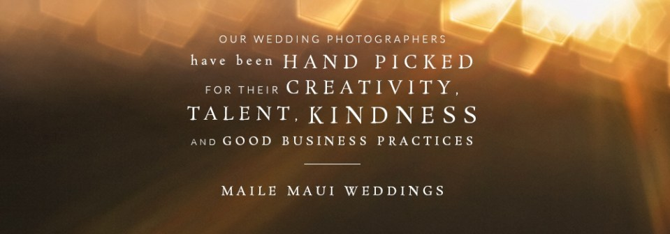 Maile Maui Weddings Partnership