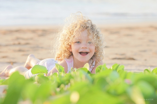 Maui portrait at the beach