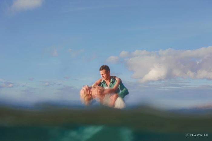Maui trash the dress photographers