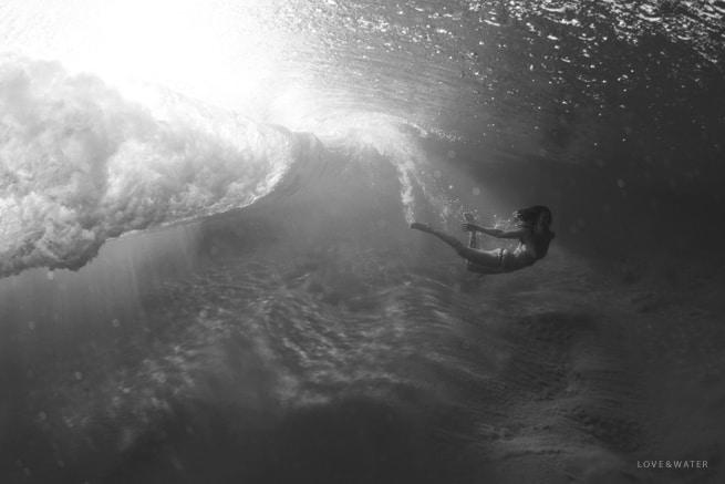 Underwater Photography Maui wearing KaiKini Bikinis