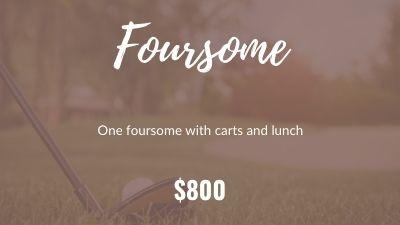 Foursome ($800)