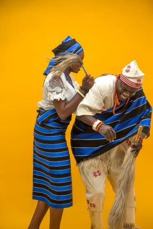 Nigerian Traditional PreWedding Shoot LoveWeddingsNG 1