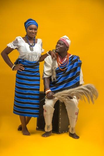 Nigerian Traditional PreWedding Shoot LoveWeddingsNG
