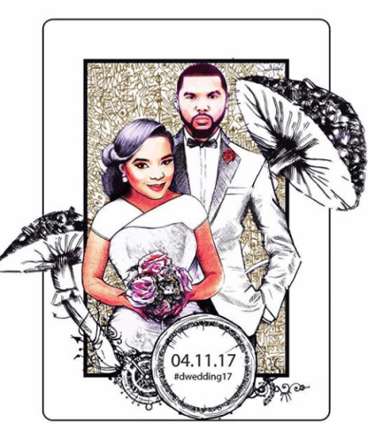 Nigerian Wedding Trends 2017 Illustrations #DWedding17