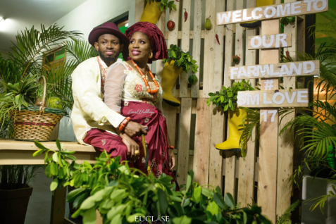 Nigerian Traditional Wedding Sumbo and Moses Farm Themed Wedding #SMLove17 TrendyBE Events LoveWeddingsNG 1