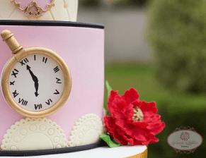 Alice in wonderland Nigerian Wedding Cake Dainty Affairs LoveWeddingsNG 4
