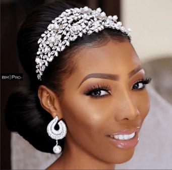 Nigerian Bridal Makeup Ms Makor Banke Meshida Lawal #Alfreds2017 LoveWeddingsNG 2