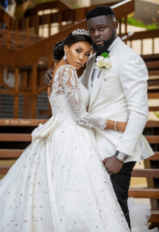 Nigerian Celebrity Wedding Bride and Groom Yomi Casual #TheCasuals17 Ayo Alasi LoveWeddingsNG 2
