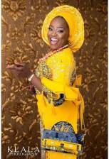 Nigerian Hot Wedding News Ankara Aso Oke Klala Photography LoveWeddingsNG 2