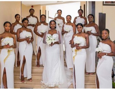 Bride and Bridesmaids from #Teedot2017