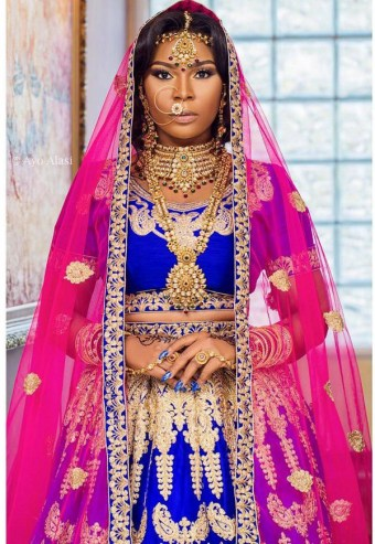 Nigerian Hot Wedding News Rhonkefella South Asian Bridal Inspiration LoveWeddingsNG 1
