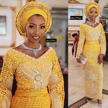Nigerian Hot Wedding News The Designer Bride Ms Makor Banke Meshida Lawal Lavish Bridals LoveWeddingsNG