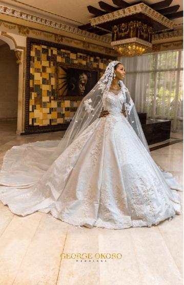 Nigerian Wedding The Designer Bride Ms Makor #Alfreds2017 George Okoro Weddings LoveWeddingsNG 2