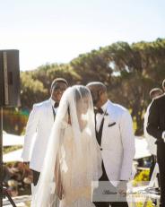 Adesua Etomi and Banky Wellington's White Wedding in Cape Town #BAAD17 smile AEP Photography LoveWeddingsNG 2