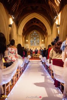 Ghanaian Wedding Aisle Bema and Cherelle Adjei-Ampofo JOT Photography LoveWeddingsNG 1