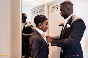 Ghanaian Wedding Best Woman Getting Ready Bema and Cherelle Adjei-Ampofo JOT Photography LoveWeddingsNG 1