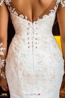 Ghanaian Wedding Bride in Illusion Sleeves Bema and Cherelle Adjei-Ampofo JOT Photography LoveWeddingsNG 3