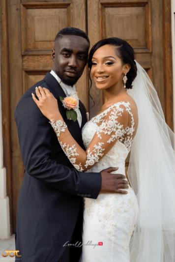 Ghanaian Wedding Couple Portrait Bema and Cherelle Adjei-Ampofo JOT Photography LoveWeddingsNG 2