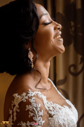 Ghanaian Wedding Smiling Bride Bema and Cherelle Adjei-Ampofo JOT Photography LoveWeddingsNG
