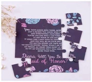 Nigerian Jigsaw Wedding Invite LoveWeddingsNG 1