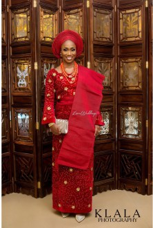 Nigerian Traditional Bridal Makeup Lola and Wale Klala Photography LoveWeddingsNG 9