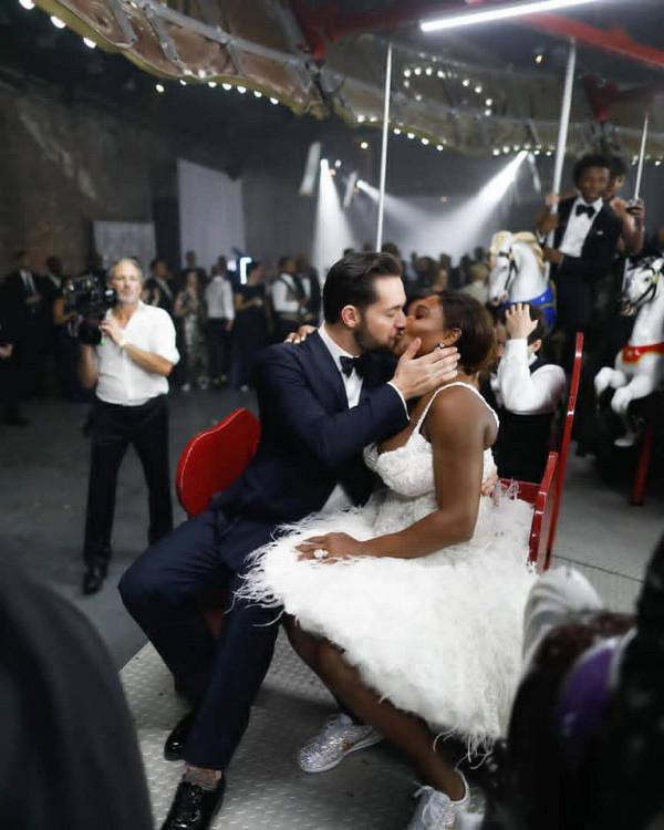 Serena Williams Alexis Ohanaian Wedding LoveWeddingsNG 4