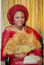 Nigerian Traditional Bride Adeogo Oluwadamilare andAdeyinka Adebomi Jane #TheStones2017 Esan Harris Photography LoveWeddingsNG 4