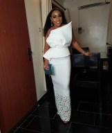 Rita Dominic Red Carpet Bridal Inspiration The Future Awards 2017 LoveWeddingsNG