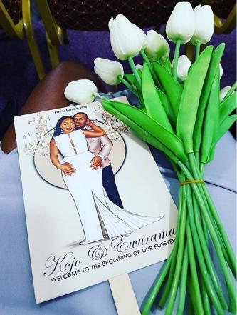 Kojo and Ewurama Peniel Enchil's Wedding #IssaChillTeng LoveWeddingsNG 1