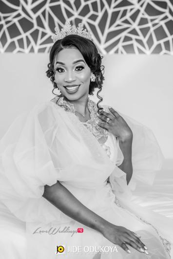 Nigerian Bride in Robe Enchanted Themed Wedding LoveWeddingsNG #ForeverAHMUYours18
