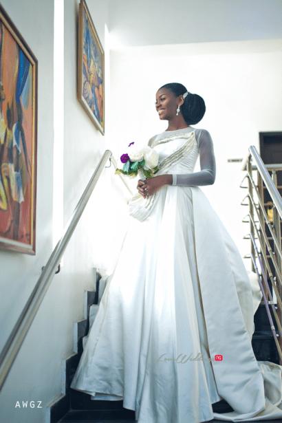 Nigerian Minimalist bride Ibidola #NYUnion LoveWeddingsNG 1
