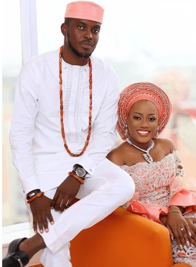 Nigerian Traditional Bride and Groom Ashioma and Uba #UBAsh Euclase Photography LoveWeddingsNG 2
