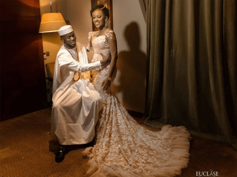 Nigerian Traditional Bride and Groom Ashioma and Uba #UBAsh Euclase Photography LoveWeddingsNG