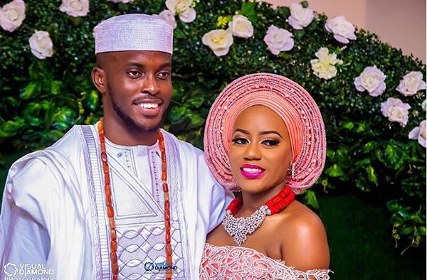Nigerian Traditional Bride and Groom Ashioma and Uba #UBAsh Visual Diamond LoveWeddingsNG