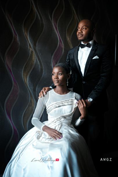 Nigerian Wedding Studio Portrait bride Ibidola and Yemi #NYUnion LoveWeddingsNG Awgz
