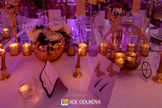 Nigerian Wedding Tablescape LoveWeddingsNG #ForeverAHMUYours18 1