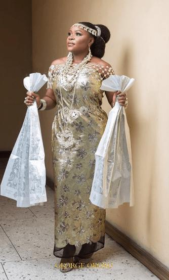 Omawumi Megbele and Tosin Yusuf Traditional Wedding George Okoro Weddings LoveWeddingsNG #TOY18 2