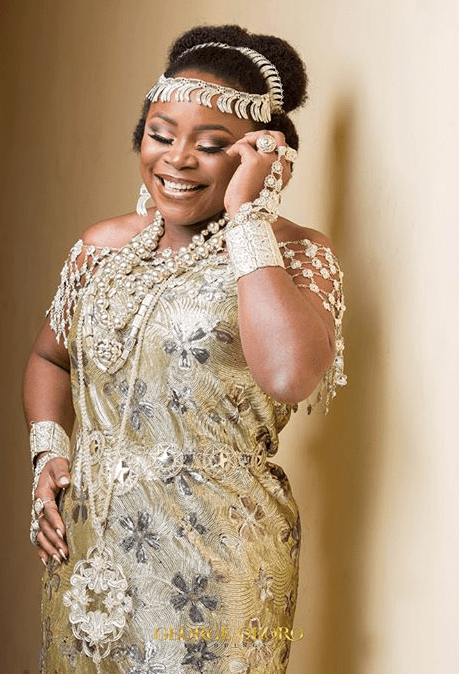Omawumi Megbele and Tosin Yusuf Traditional Wedding George Okoro Weddings LoveWeddingsNG #TOY18 5