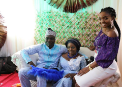 Simi's Mum Weds Traditional Wedding #FAJO2018 LoveWeddingsNG