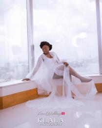 Nigerian Bride in Bridal Robe Folake and Ademola's Wedding #FAB2018 Klala Photography LoveWeddingsNG 4