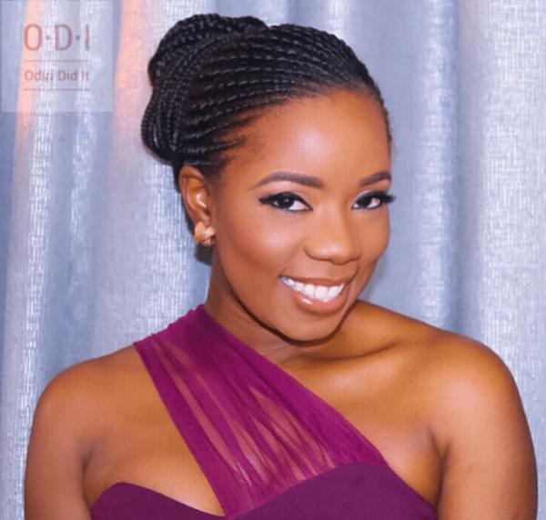 Nigerian Bridesmaid Gbeminiyi in Peridot #TABBS17 LoveWeddingsNG 1