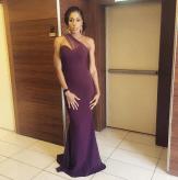 Nigerian Bridesmaid Nicole Chikwe in Peridot #TABBS17 LoveWeddingsNG