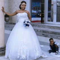 Olajumoke Orisaguna and Oluwatobiloba Falana Nigerian Photobomber Afrique Chic LoveWeddingsNG