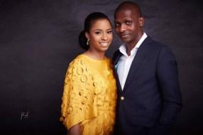 Prof Yemi Osinbajo's daughter Oludamilola Osinbajo and husband Oluseun Bakare LoveWeddingsNG